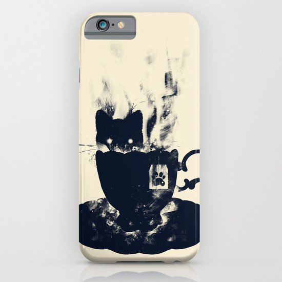 Having Tea With my Lovely Cat iPhone & iPod Case