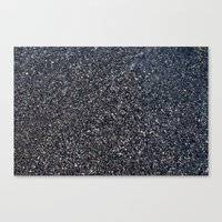 Black Sand I Canvas Print