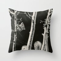 The Girls - Tim Burton Throw Pillow