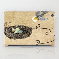 Bird's Winged Flight  iPad Case