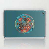 Round geometric design Laptop & iPad Skin