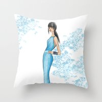 Monica Throw Pillow