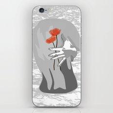 Poppy Back iPhone & iPod Skin