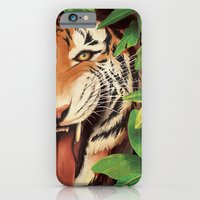iPhone & iPod Case featuring Guardian of the Jungle by Katie Sanvick