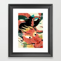 CHINESE NEW YEAR'S EVE Framed Art Print