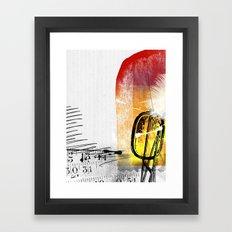 62 Framed Art Print
