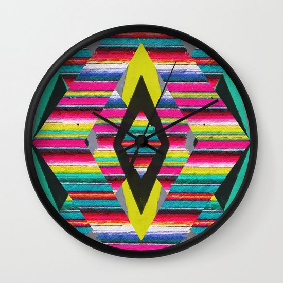 Serape Wall Clock