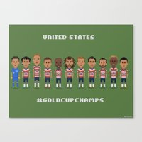 US Soccer  - #GoldCupChamps Canvas Print