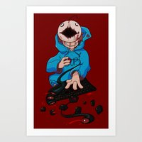 Mad!Cryaotic Art Print