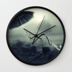 Hope Floats Away Wall Clock