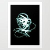 Organized Confusion Art Print