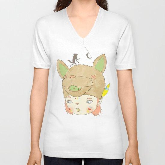 왕좌의 귀환 : RETURN OF THE THRONE V-neck T-shirt
