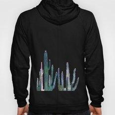 cactus water color Hoody