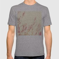 Lavender Mens Fitted Tee Athletic Grey SMALL
