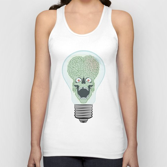 Think Martian  Unisex Tank Top
