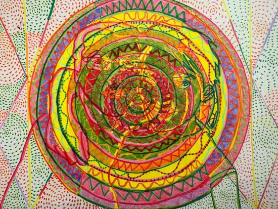 ManDolla (Mandala)  Art Print