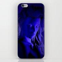 Midnight Girl iPhone & iPod Skin