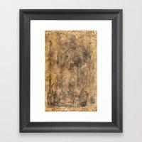 Ironworks Of Old Framed Art Print