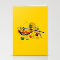 Kill Fruit Stationery Cards
