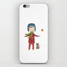 A  BIRD  IN LOVE  iPhone & iPod Skin