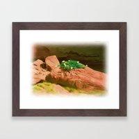 Datura Cavern Framed Art Print