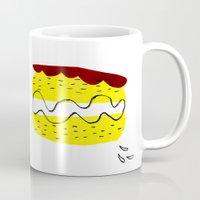 donut vs eclaire Mug