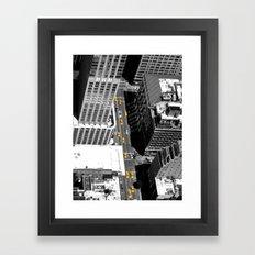 Taxi ! Framed Art Print
