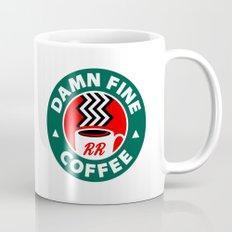 Damn Fine Coffee Twin Peaks Mug