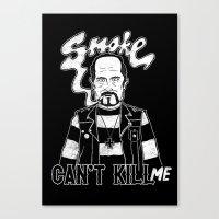 Smoke Can't Kill Me Canvas Print