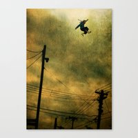 The Jumper Canvas Print