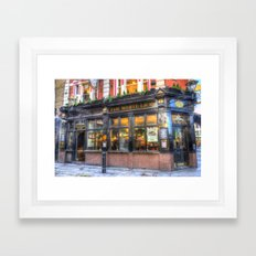 The White Lion Covent Ga… Framed Art Print
