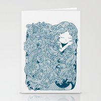 Mermaid Dreams Stationery Cards