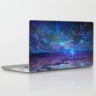 Ocean, Stars, Sky, And Y… Laptop & iPad Skin