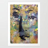 VENUSIAN FACE8 Art Print