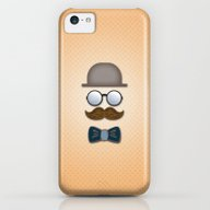 Brown Top Hat, Moustache… iPhone 5c Slim Case