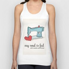 Sewing Lovers Unisex Tank Top