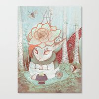 Forest Fairytales Canvas Print