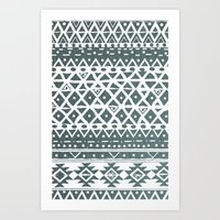 NORTH WIND TRIBAL Art Print