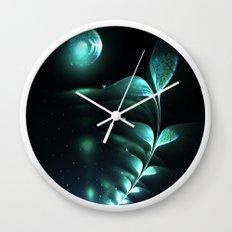 Alien Plant Wall Clock