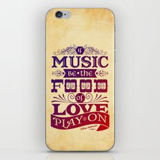 Food of Love  iPhone & iPod Skin