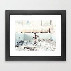 HOTEL PISTOLERO Framed Art Print