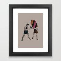 Mixed Martial Art Framed Art Print