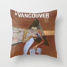 Locals Only - Vancouver Throw Pillow