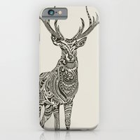 iPhone Cases featuring Polynesian Deer by Huebucket