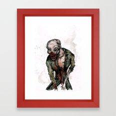 Keep Living Framed Art Print