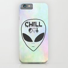 Chill Out Alien TUMBLR iPhone 6 Slim Case