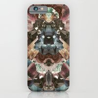 iPhone & iPod Case featuring Crystal Collage by PatternPeople