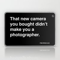 That New Camera You Boug… Laptop & iPad Skin