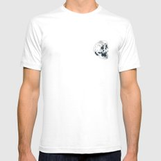 Peterson SMALL Mens Fitted Tee White