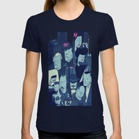 Blade Runner Womens Fitted Tee Navy SMALL